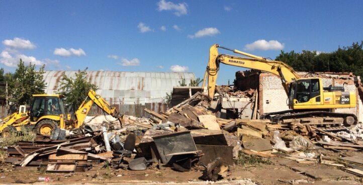Демонтаж склада